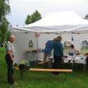 """Der """"Speisesaal"""" auf dem Zeltplatz in Saverne"""