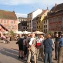 Auf dem Marktplatz vom Mühlhausen